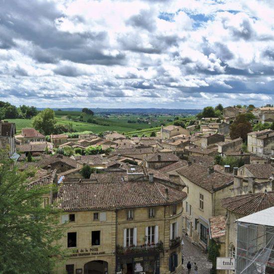The town of Saint-Emilion
