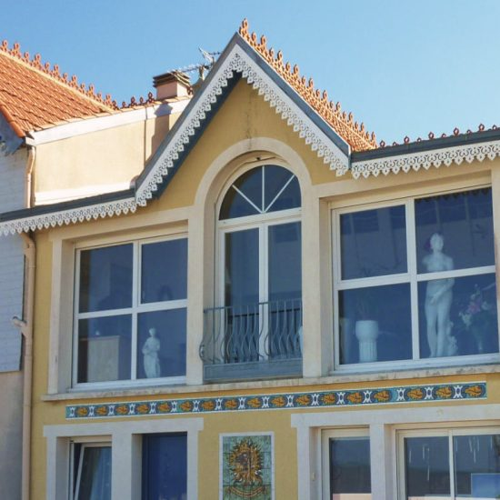 Typical house in Châtelaillon-Plage