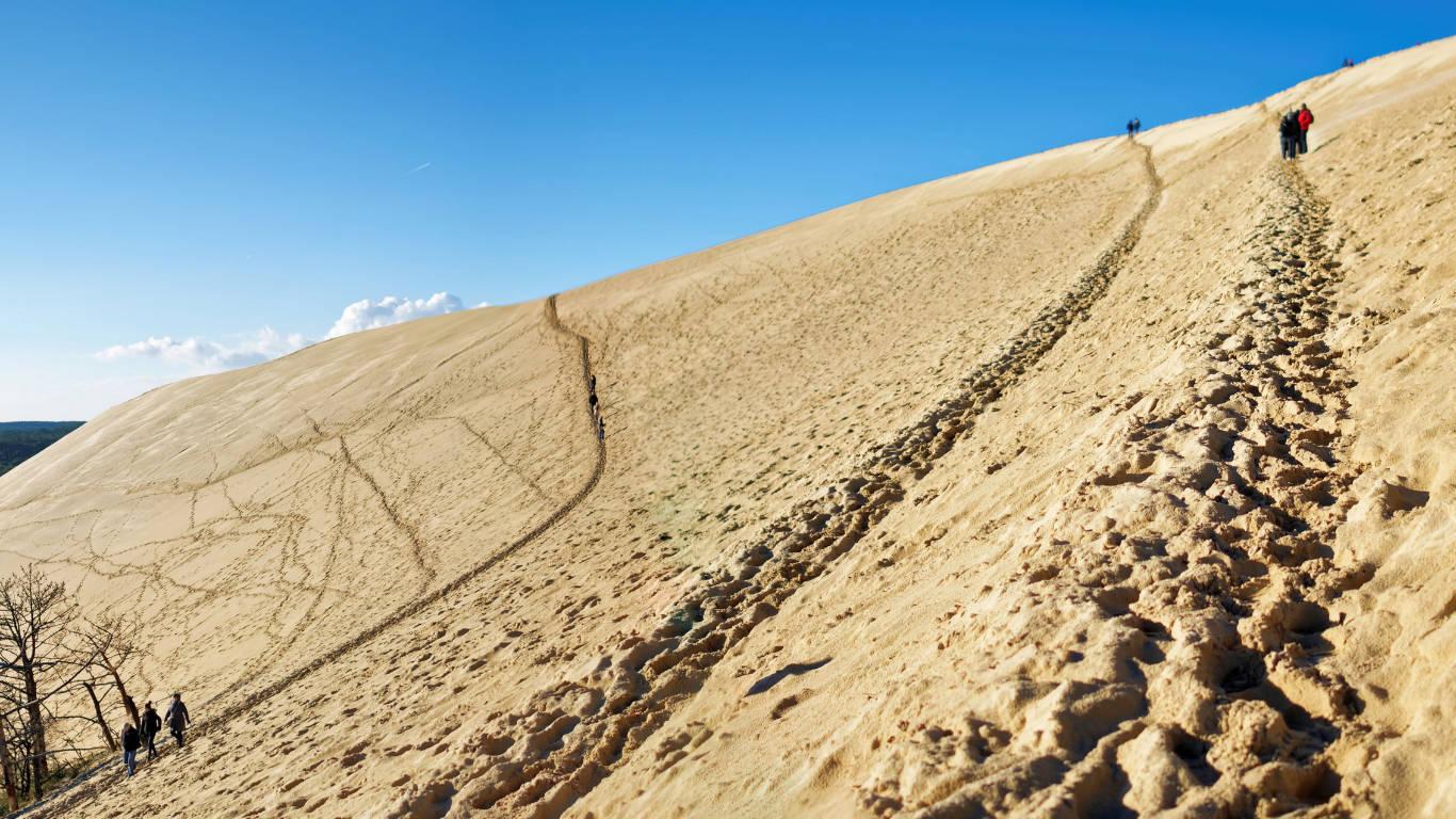Dune du pilat europe 39 s largest sand dune the french atlantic coast - Hotel dune du pilat ...