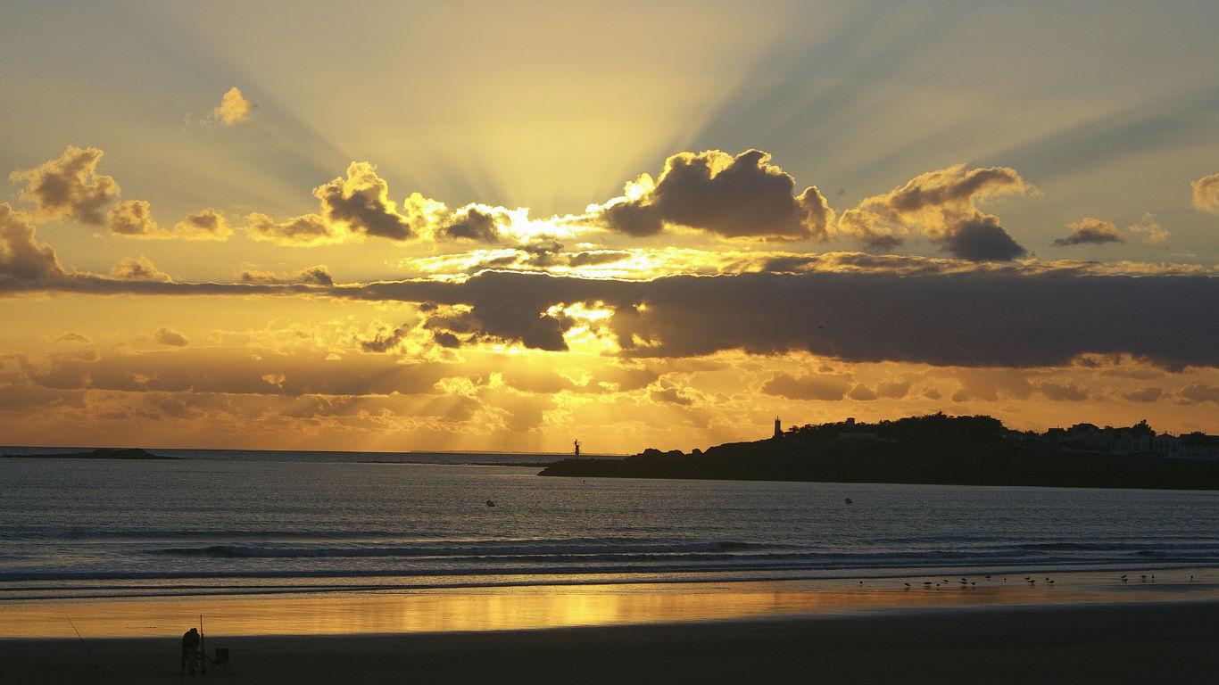 Sunset on Île de Noirmoutier