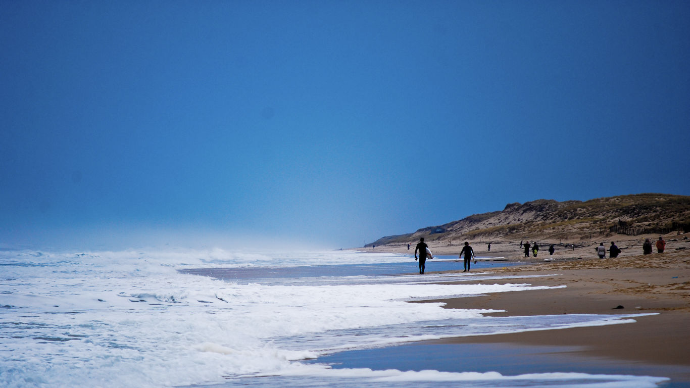 Beach of Lacanau