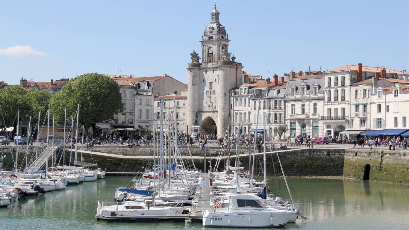 Porte de la Grosse Horloge in La Rochelle