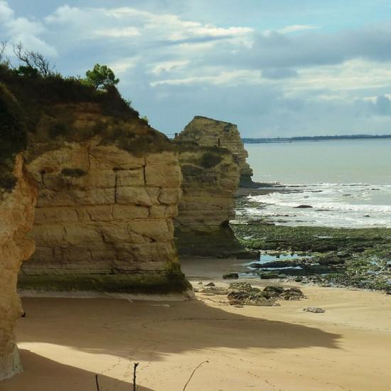 Coast at Le Parc de l'estuaire