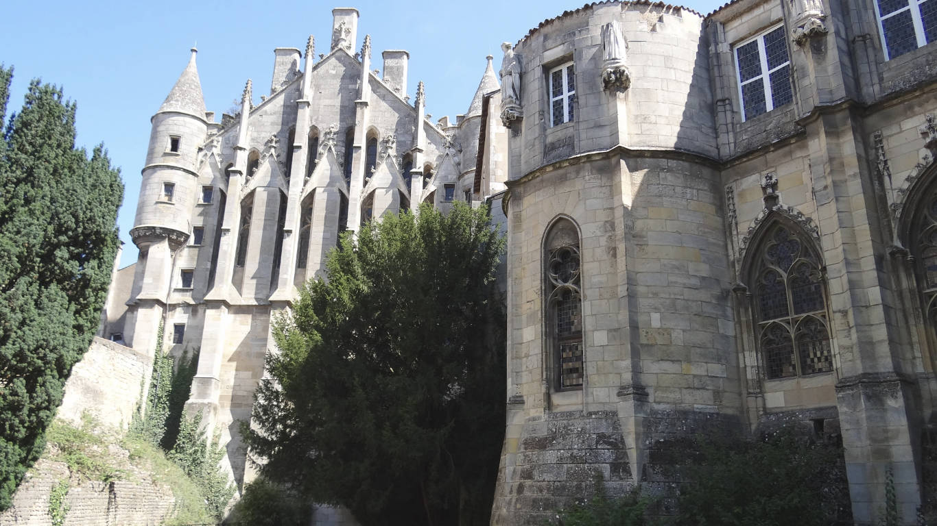 Palais de justice in Poitiers