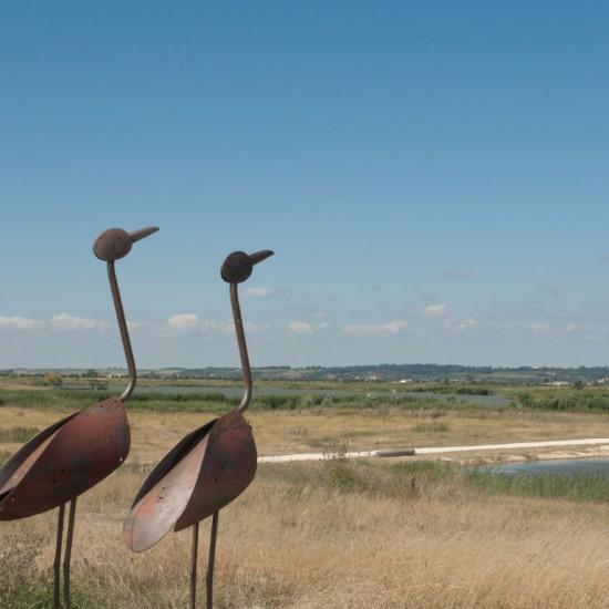 Sculpture in Pôle-Nature de Vitrezay