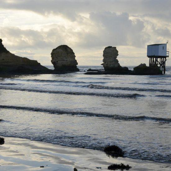 Beach of Royan