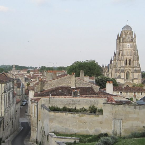 Saintes with Cathedral Saint-Pierre