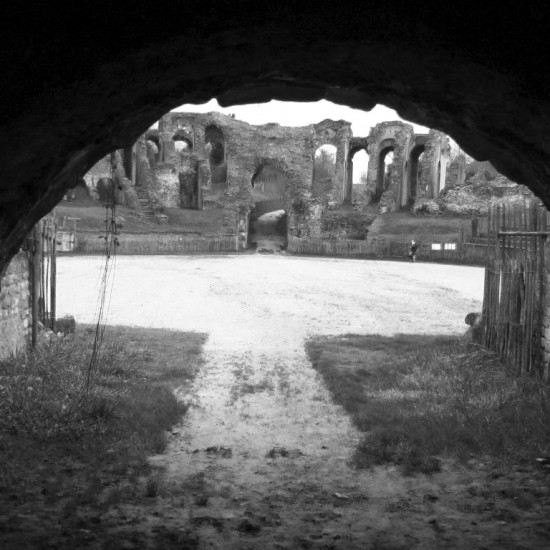Roman amphitheatre in Saintes