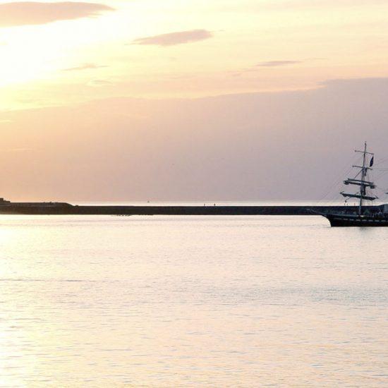 Sailing ship in Saint-Jean-de-Luz