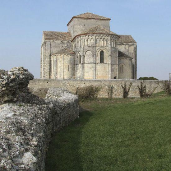 Saint Radegonde church in Talmont-sur-gironde
