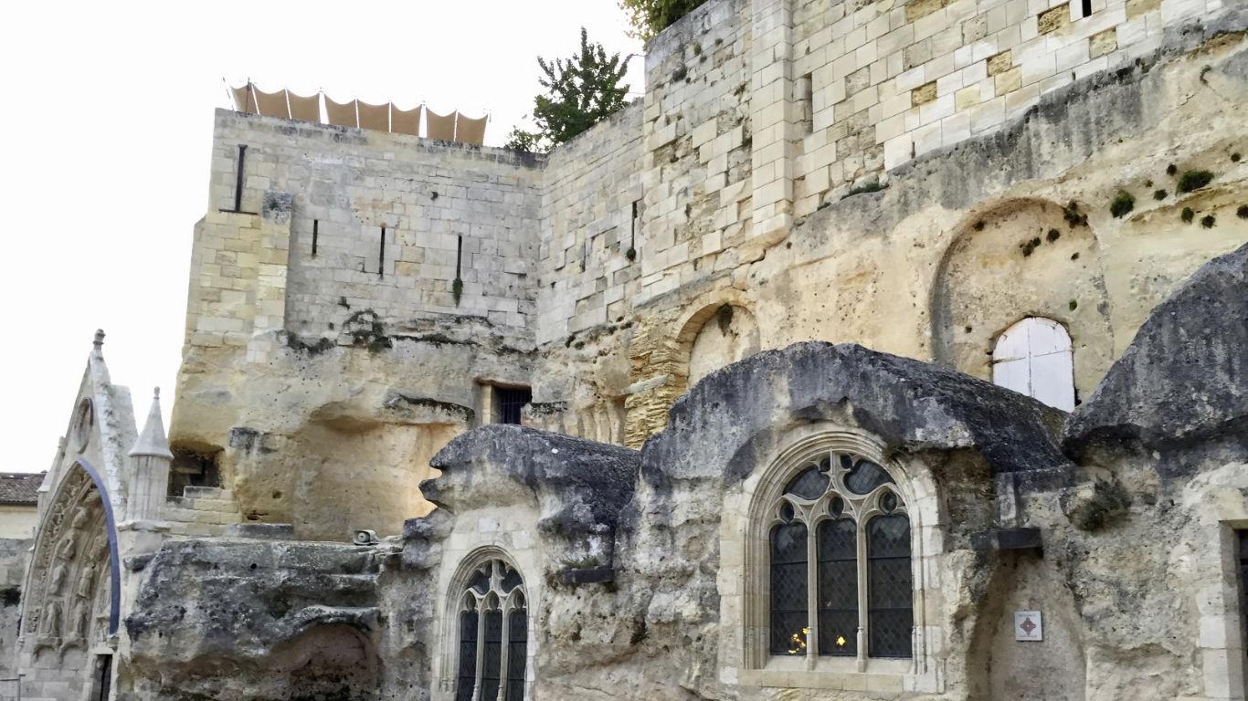 Saint-Emilion Eglise Monolithe (the Monolithic Church)