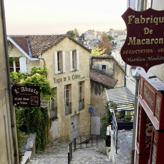 A street in Saint-Emilion