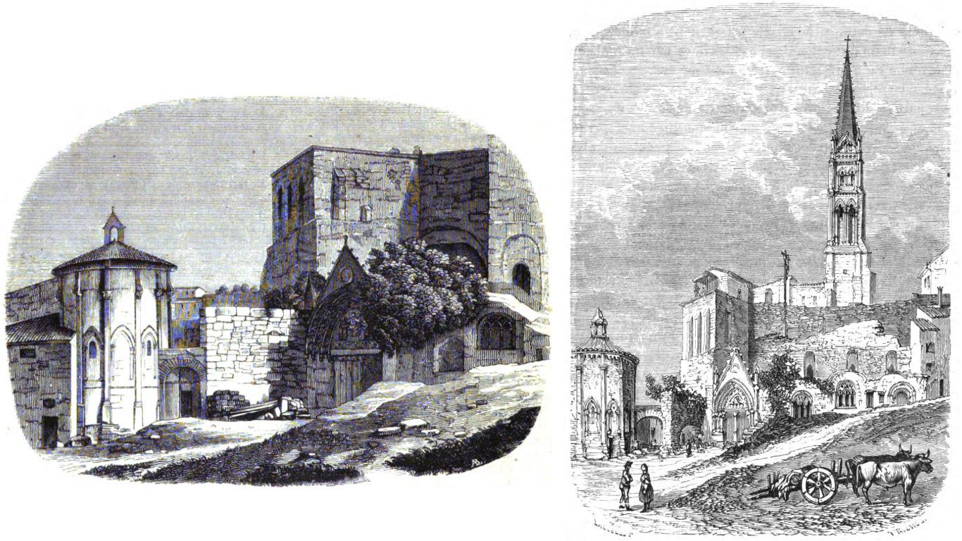 Historical illustrations of Saint-Emilion