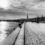 Bordeaux in winter